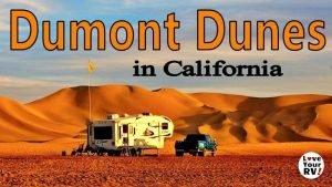 Dumont Dunes Camping Feature Photo