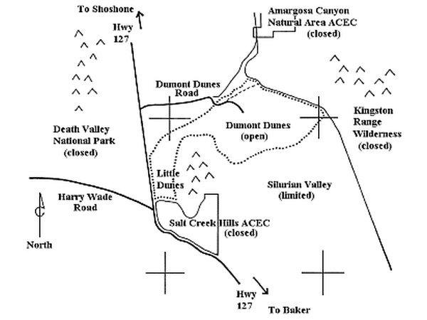 Dumont Dunes Map - http://www.blm.gov/ca/st/en/fo/barstow/dumont.html