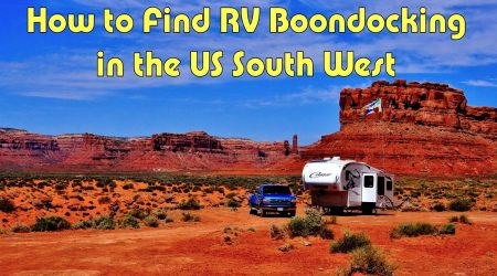 How to Find RV Boondocking Campsites in the US Southwest