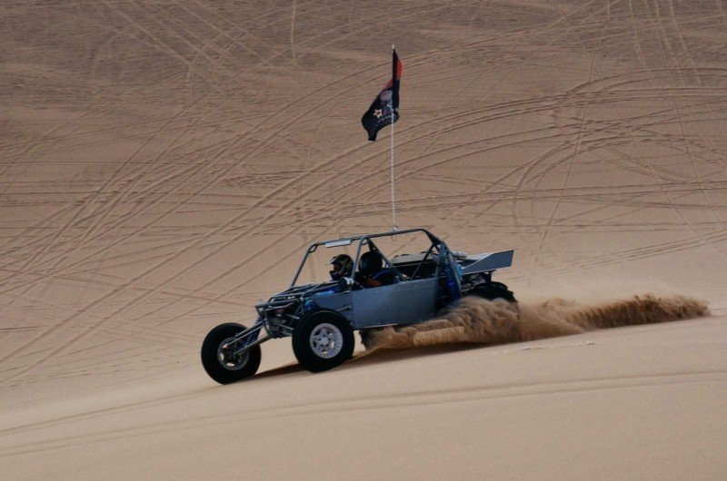 Sand rail at the Dumont Dunes CA