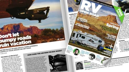 Our Second RV Open Road Magazine Cover Shot!