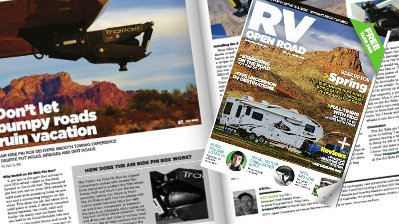 Spring 2016 RV Open Road Cover Feature Photo