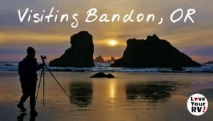 Bandon Beach Oregon Feature Photo