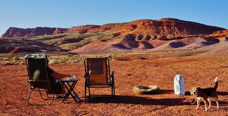 Free Boondocking near St. George Utah