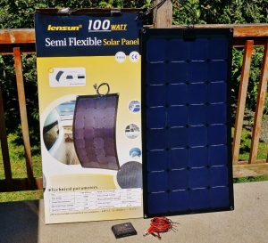Lensun 100 watt solar panel