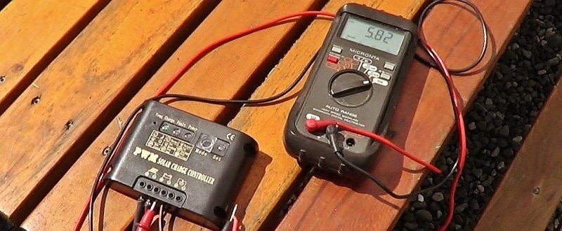 Lensun Panel current output test