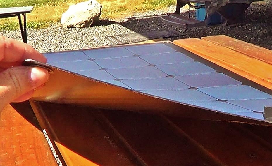 Lensun Semi Flexible 100 Watt Solar Panel Review