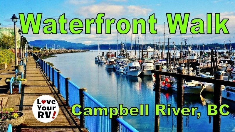 Campbell River Waterfront Walk Feature Photo