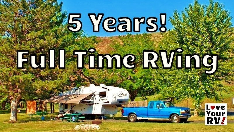 Five Years Full Time RVing Feature Photo