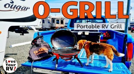 Why I Love My Little O-Grill RV Barbecue