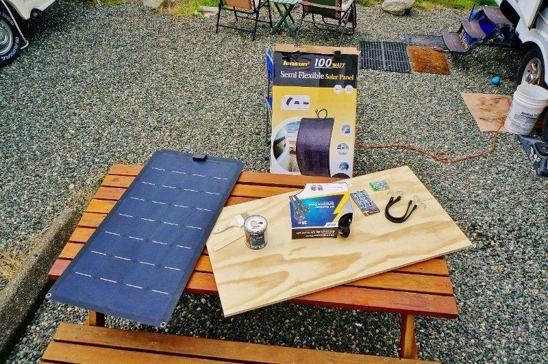 Portable Solar Panel Build