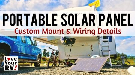 Building a Portable Solar Panel for My RV Boondocking