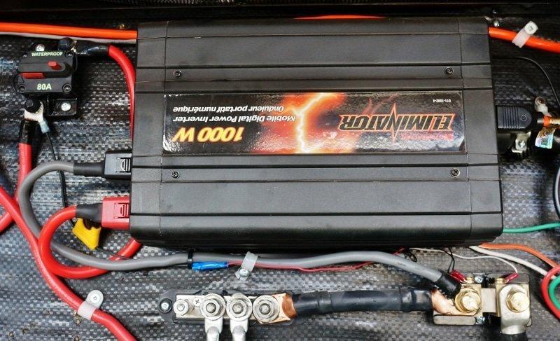 1000 Watt Inverter install