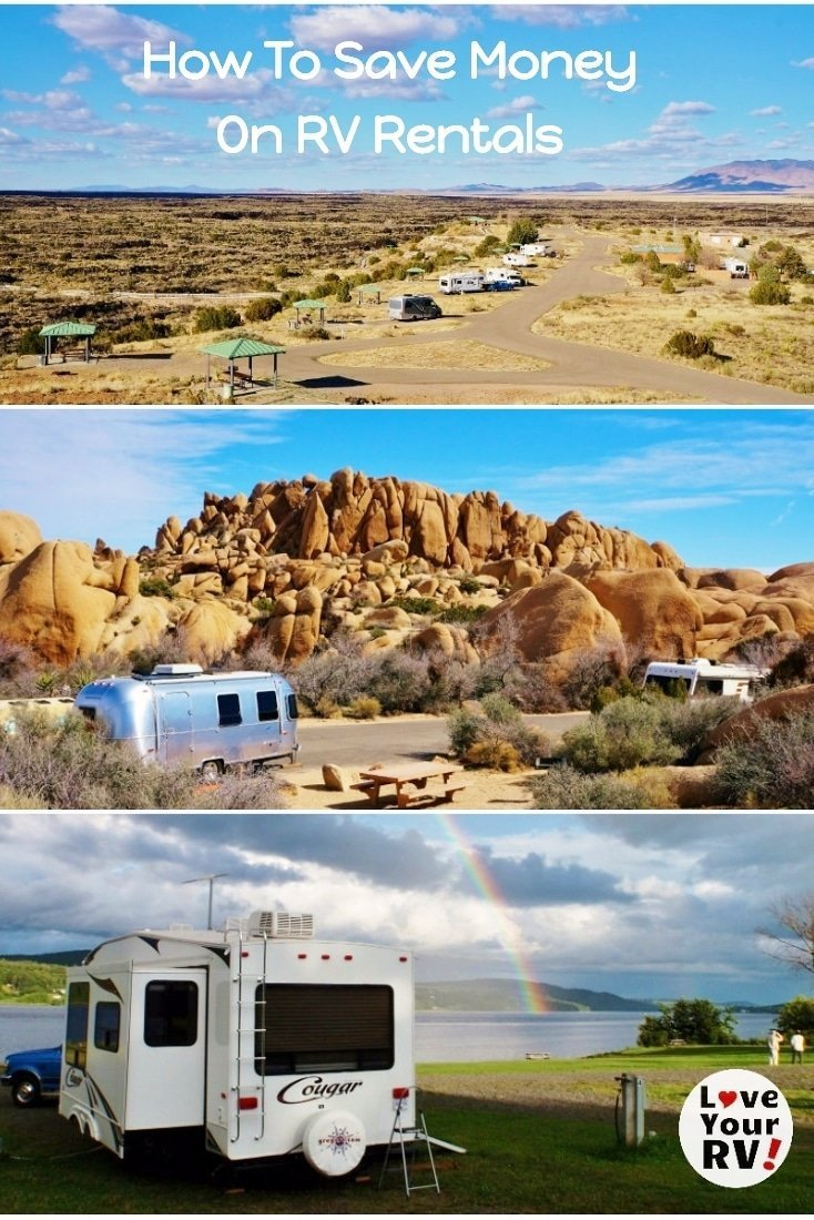 Tips and Advice on how to get the best deals on RV Rentals from the Love Your RV blog - https://www.loveyourrv.com/ #RVlife #RVing