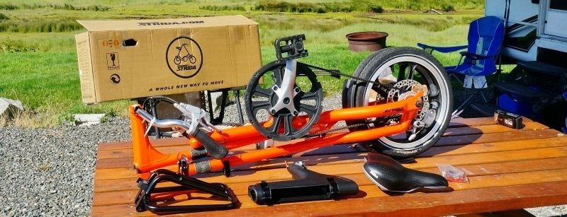 Strida LT Bike Unboxed