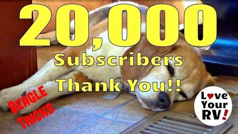 Thank You Video for 20,000 YouTube subscribers feature photo