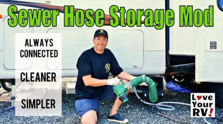 My Ultimate RV Sewer System Modification
