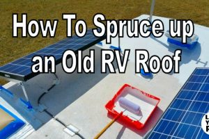 Fixing the RV Roof with Henry Tropi-Cool Feature Photo