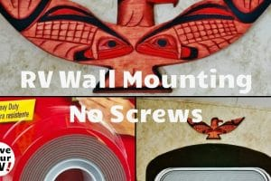 RV Wall Mounting Tip Feature Photo