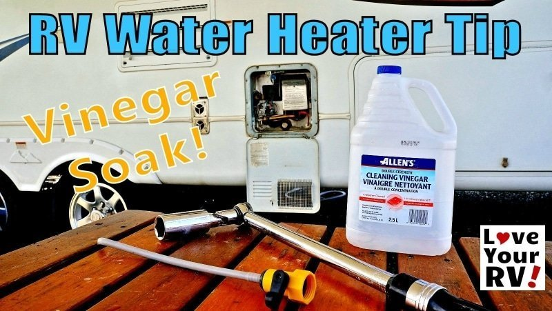 RV Water Heater Vinegar Tip Feature Photo