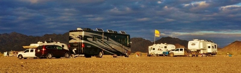 South West Desert Boondocking