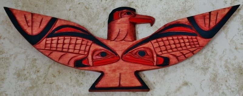 Thunderbird Native Carving