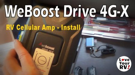 Installing the weBoost 4G-X RV Cellular Booster Kit