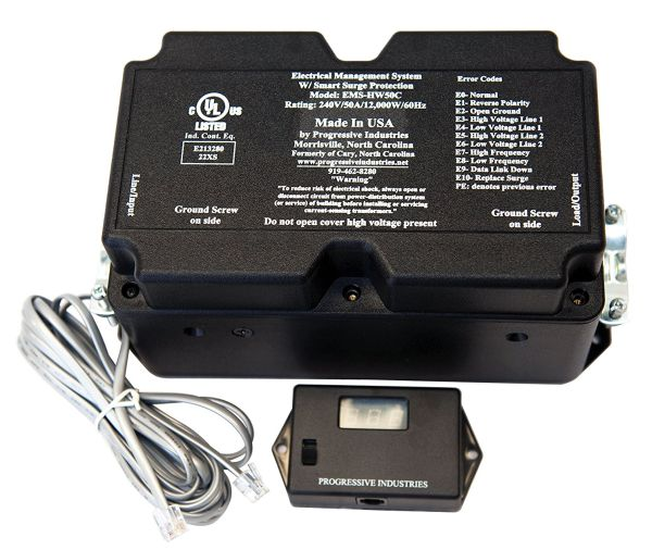 EMS-HW30C surge protector with remote display