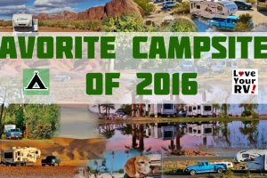 Love Your RV! Ten Favorite Campsites of 2016