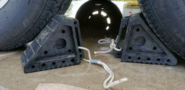Rubber RV Chocks