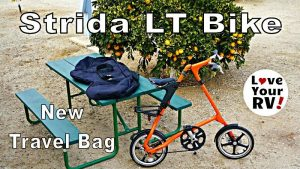 Strida Folding Bike Carrying Bag Feature Photo