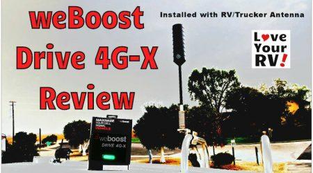 weBoost Drive 4G-X + RV Trucker Essentials Kit Review