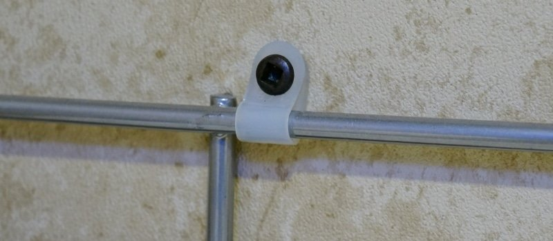 Cable Holders use for attaching to the wall