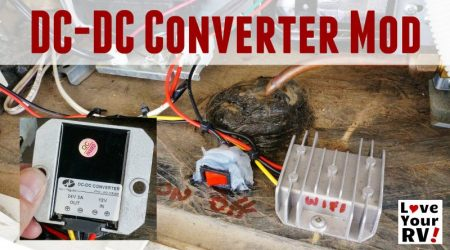 Boondocking Mod Installing a DC to DC Converter