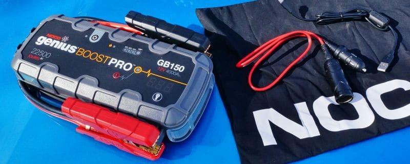 NOCO GB 150 Battery Booster Box and Accessory Cables