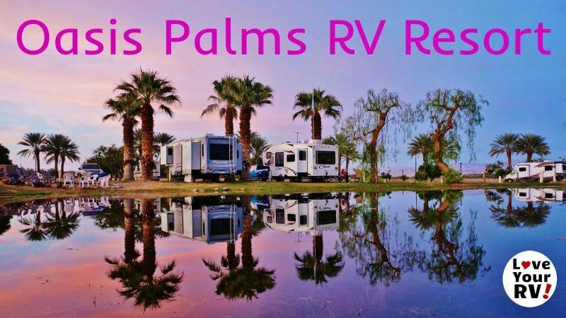 Oasis Palms RV Resort Feature Photo