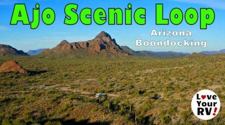 Arizona Boondocking on the Ajo Scenic Loop Drive