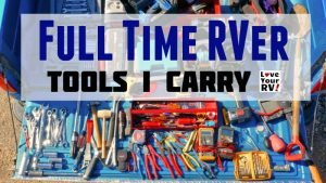 Fulltime RVer Tools I Carry Feature Photo