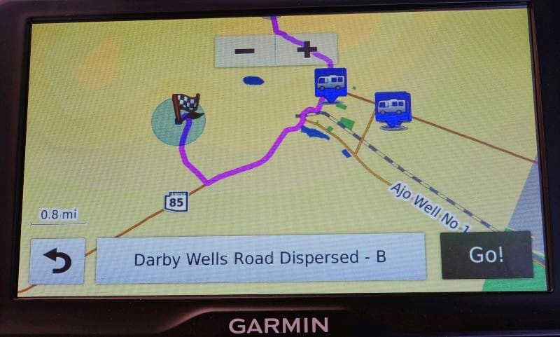 Garmin RV 760LMT Screen Shot