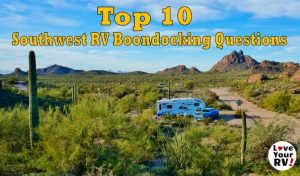 Top 10 Southwest RV Boondocker Questions Feature Photo
