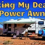 Dead RV Power Awing Repair Feature Photo