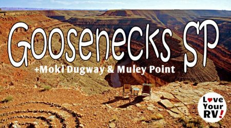 Goosenecks State Park Moki Dugway and Muley Point in Utah