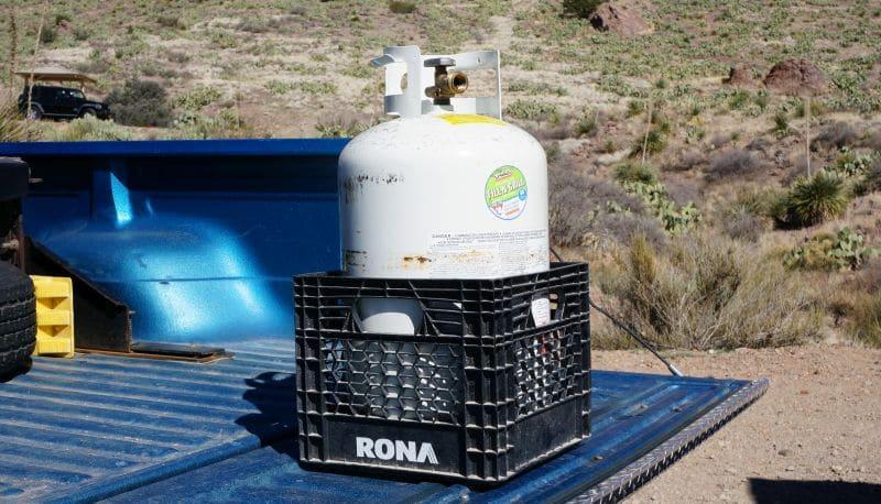 Rv Propane Cylinder Transport Tip