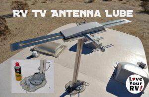 RV TV Antenna Lube Feature Photo