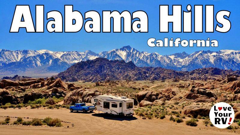 Alabama Hills California Feature Photo