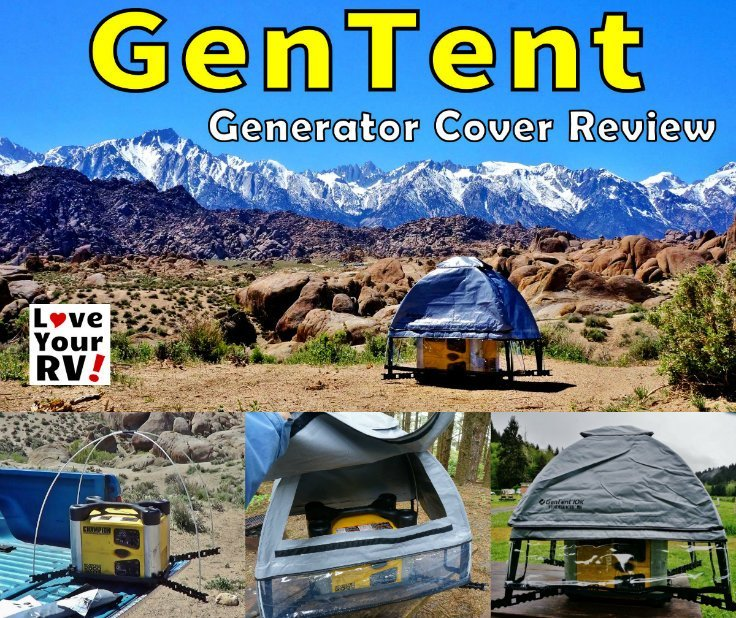 Love Your RV assembles and tests out the GenTent 10K Stormbracer Safety Canopy for their Champion 2000 watt inverter generator - https://www.loveyourrv.com/