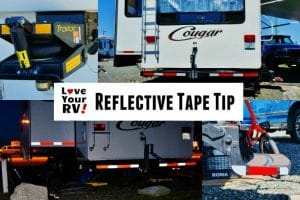 Add reflective tape tip feature photo