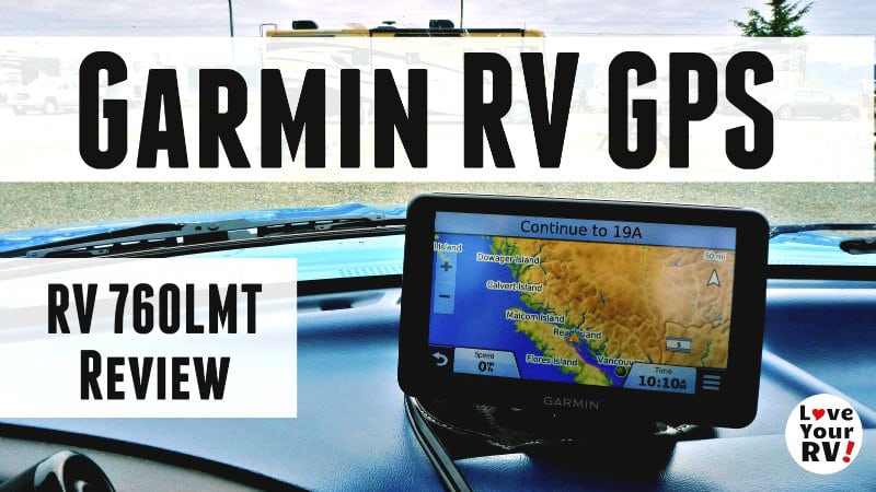 Garmin RV GPS Review Feature Photo