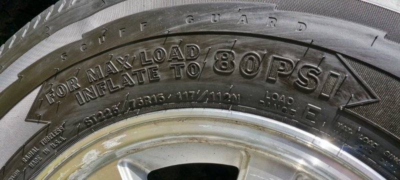 Goodyear Endurance Trailer Tires