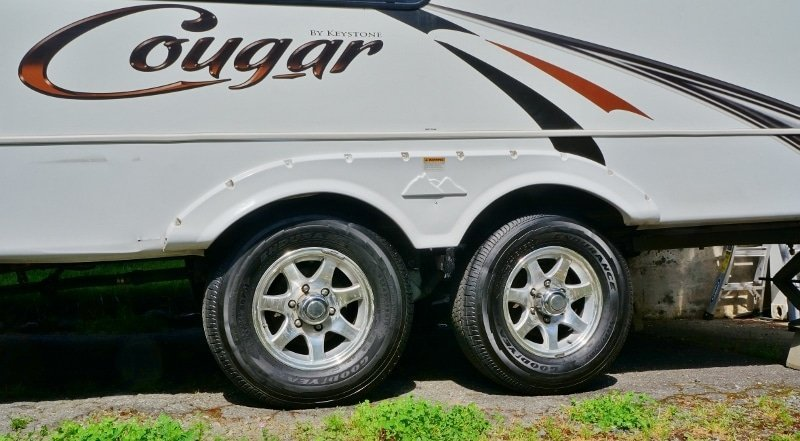 Keystone Cougar Tires